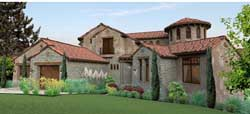 Italian Style Floor Plans Plan: 61-118