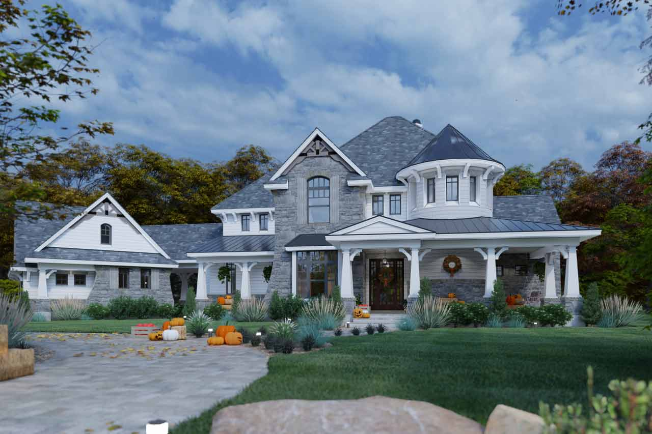 Craftsman Style Floor Plans 61-120