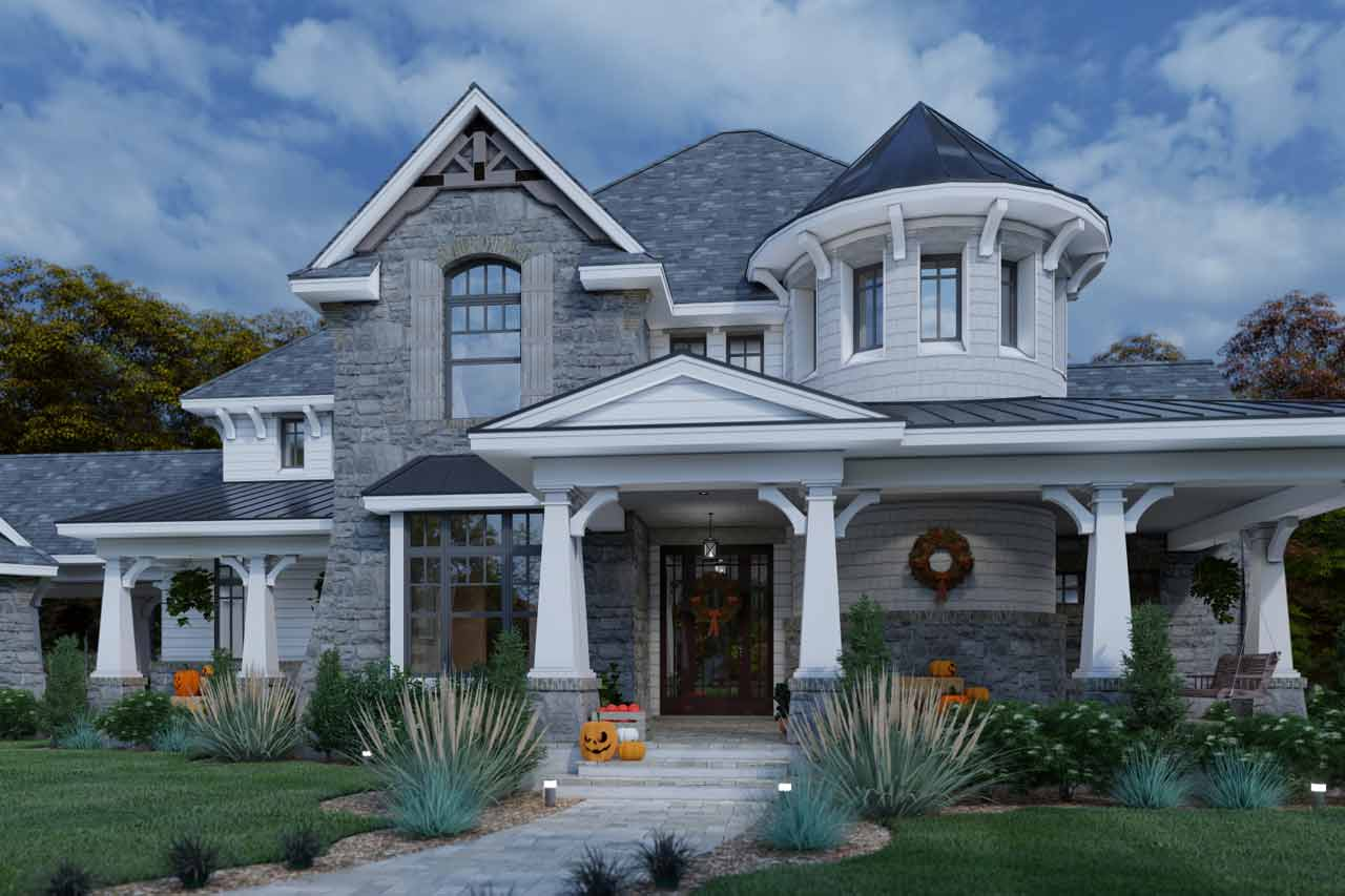 Craftsman Style Floor Plans