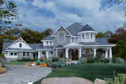 Craftsman Style Home Design Plan: 61-120