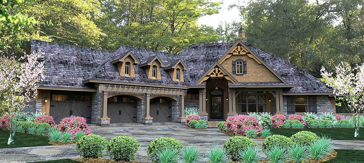 Craftsman Style Floor Plans Plan: 61-121