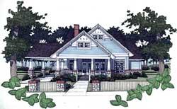 Craftsman Style House Plans Plan: 61-130