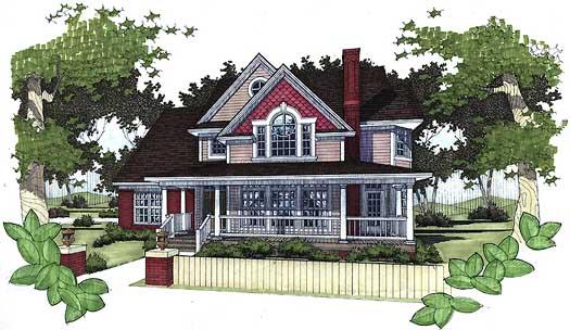 Farm Style House Plans Plan: 61-143