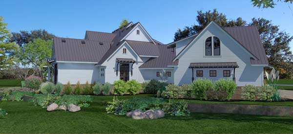 Modern-farmhouse Style House Plans
