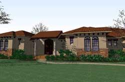 Southwest Style House Plans Plan: 61-177