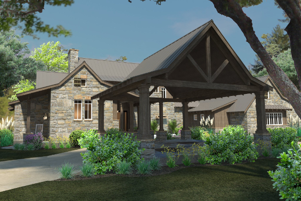 Mountain-or-rustic Style House Plans