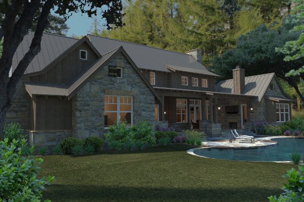 Mountain-or-rustic Style Home Design