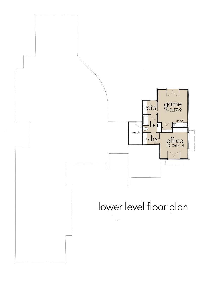 Lower Floor Plan:61-193