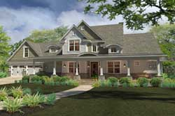 Modern-Farmhouse Style Floor Plans Plan: 61-194