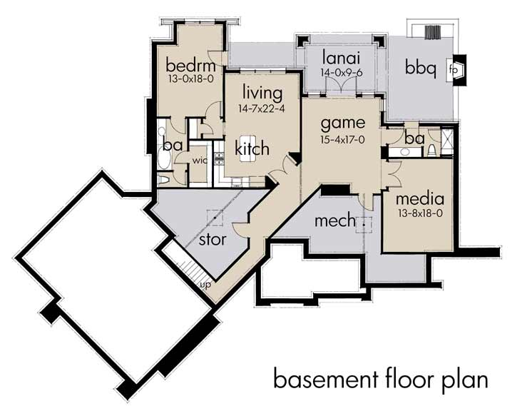 Lower Floor Plan: 61-196