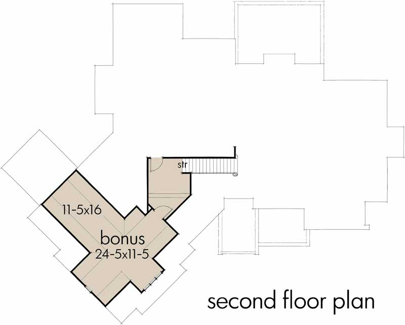 Bonus Floor Plan: 61-201