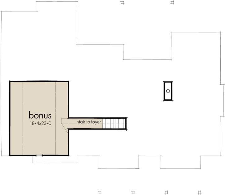 Bonus Floor Plan: 61-205