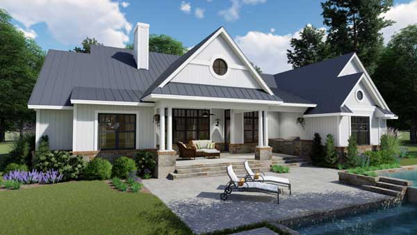 Modern-farmhouse Style Home Design