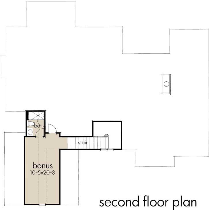 Bonus Floor Plan: 61-207