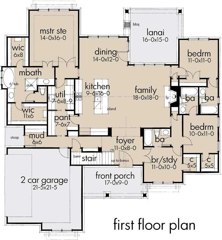 Main Floor Plan: 61-207