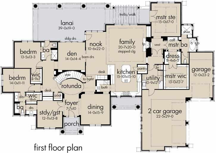 Main Floor Plan: 61-208