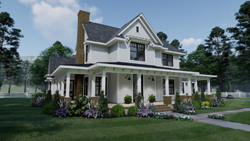 Modern-Farmhouse Style House Plans Plan: 61-211