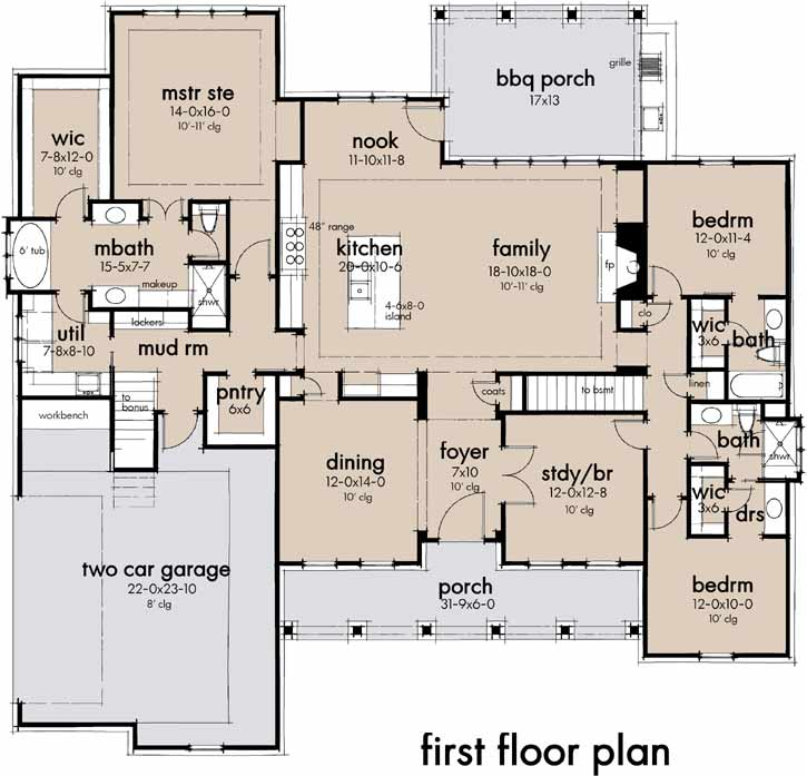Main Floor Plan: 61-213