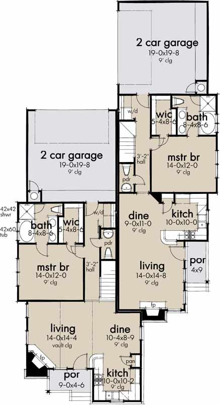 Main Floor Plan: 61-215