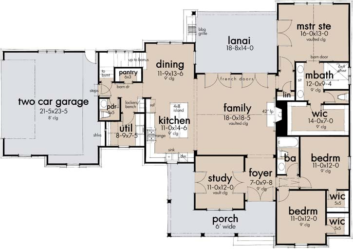 Main Floor Plan: 61-219