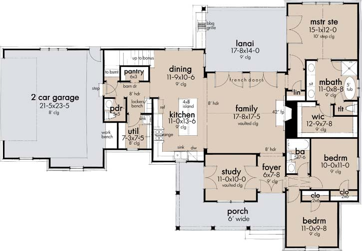 Main Floor Plan: 61-221