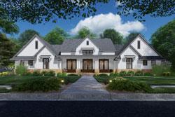 Modern-Farmhouse Style House Plans Plan: 61-222