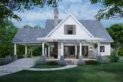 Modern-Farmhouse Style Floor Plans Plan: 61-224