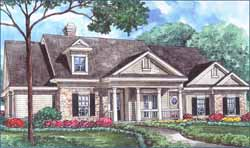 Southern Style Floor Plans Plan: 62-126