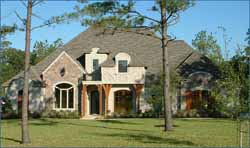 French-Country Style House Plans Plan: 62-130