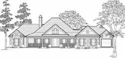 Southern Style Floor Plans 62-136