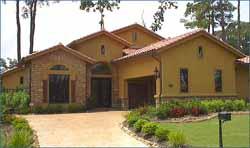 Spanish Style House Plans Plan: 62-138