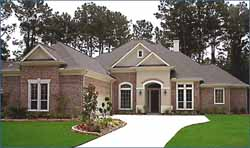 Traditional Style Home Design Plan: 62-146