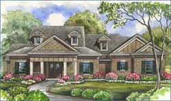 Southern Style Floor Plans Plan: 62-153