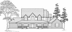 Farm Style Floor Plans Plan: 62-172