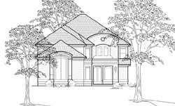 European Style House Plans Plan: 62-186