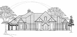 Traditional Style House Plans Plan: 62-195