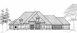 Traditional Style House Plans Plan: 62-199