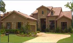 Tuscan Style Home Design Plan: 62-200