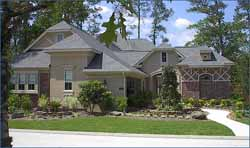French-Country Style Home Design Plan: 62-215