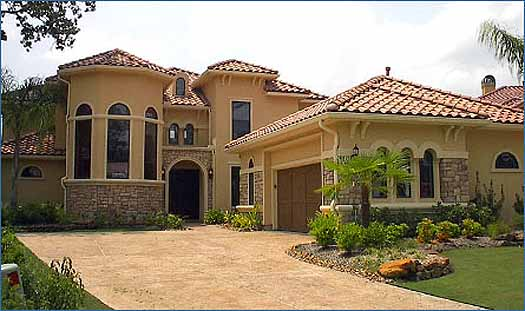 Mediterranean Style House Plans Plan: 62-228