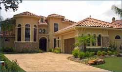 Mediterranean Style Home Design Plan: 62-228