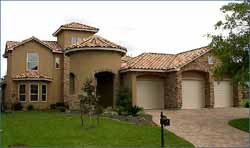 Mediterranean Style House Plans Plan: 62-229
