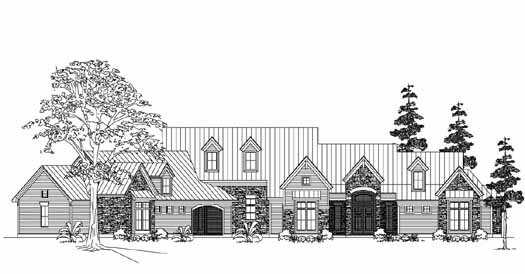 Farm Style Floor Plans Plan: 62-231