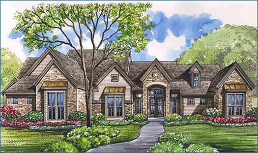 Country Style House Plans Plan: 62-248