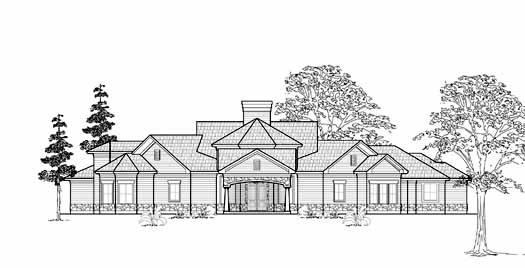 Traditional Style House Plans Plan: 62-254