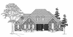 Traditional Style House Plans Plan: 62-271
