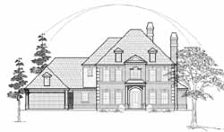 Southern-Colonial Style House Plans Plan: 62-272