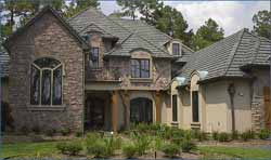 French-Country Style Home Design Plan: 62-283