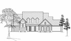 Country Style Floor Plans Plan: 62-295