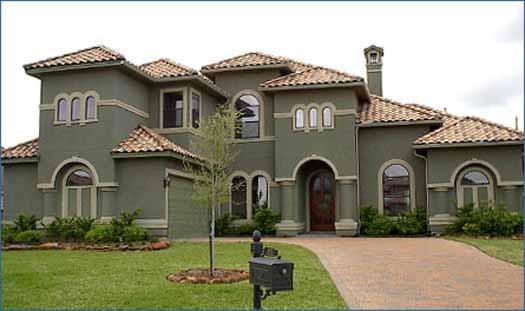 Mediterranean Style Home Design Plan: 62-297